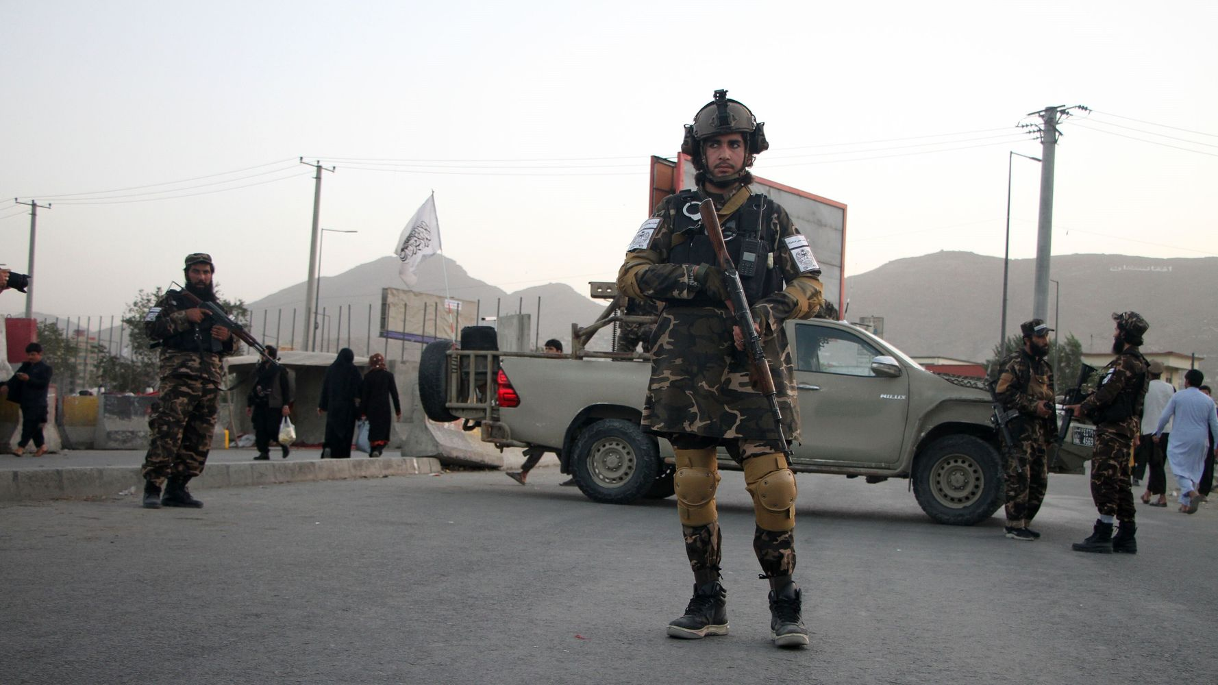 Taliban Say They Won't Work With U.S. On Shared Islamic State Threat