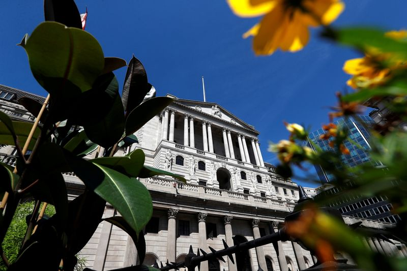 BoE chief economist says UK inflation could top 5% -FT By Reuters